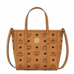 MCM Printed Handbag Mini Shoulder Bag Messenger Bag Vegetable Basket