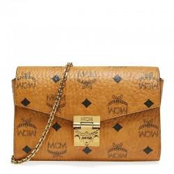 MCM Printed Messenger Bag Envelope Bag Lady Shoulder Bag