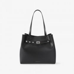 Charles Keith Key Embellished One Shoulder Messenger Bag Black