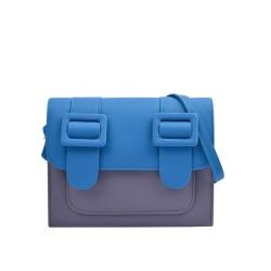 Merimies Mix Passion Blue Grey Bag M Size