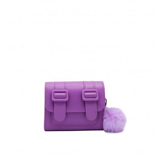 Merimies Belt Belt Mini Light Violet Bag
