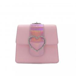 Merimies Pink Pearl Bag