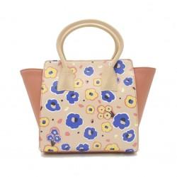 Merimies Little Floral Collection Cornflower Pink Bag