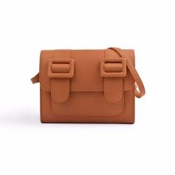 Merimies Plain Pretty Brown Bag L Size