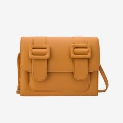 Merimies Plain Pretty Mustard Yellow Bag L Size
