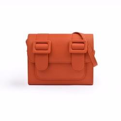 Merimies Plain Pretty Orange Bag L Size