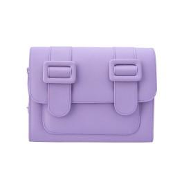 Merimies Plain Pretty Pale Purple Bag L Size