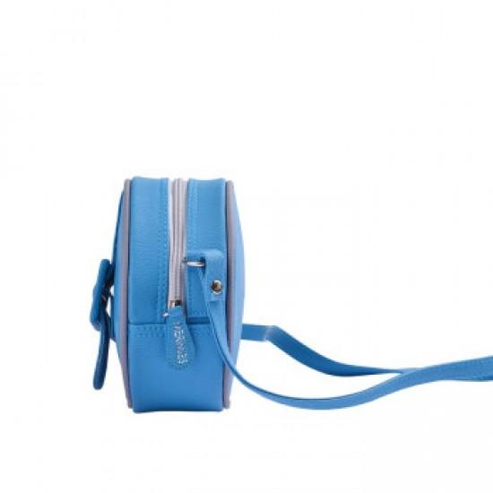Merimies Candy Color Mini Round Bag Blue