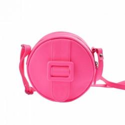 Merimies Fluorescent Round Bag Neon Pink Bag