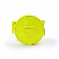 Merimies Fluorescent Round Bag Neon Yellow Bag