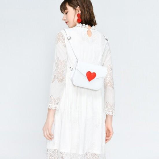 Merimies Love Letter Bag White Bag