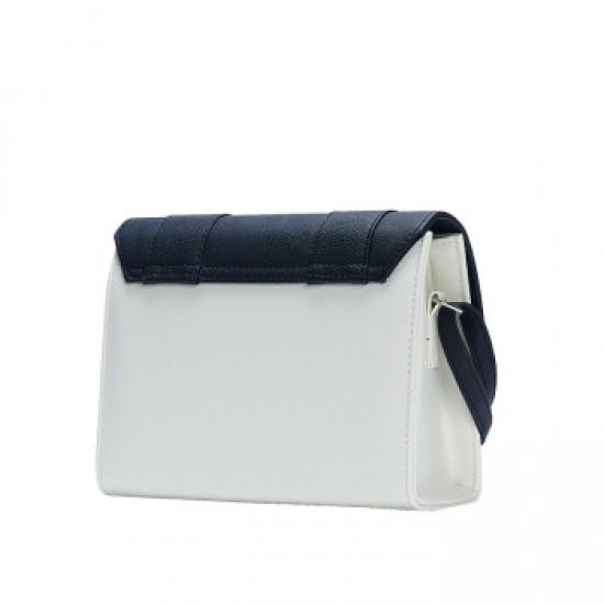 Merimies Mix Passion Stripe Cute Black White Bag M Size