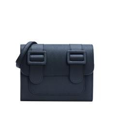 Merimies Plain Pretty Black Bag M Size