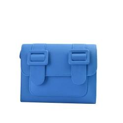 Merimies Plain Pretty Blue Bag M Size