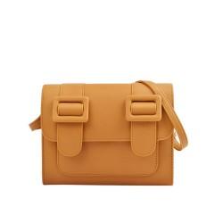 Merimies Plain Pretty Mustard Bag M Size