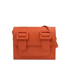 Merimies Plain Pretty Orange Bag M Size