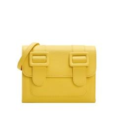 Merimies Plain Pretty Yellow Bag M Size